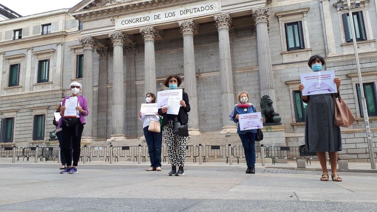 23sep ante el Congreso exigiendo LOASP