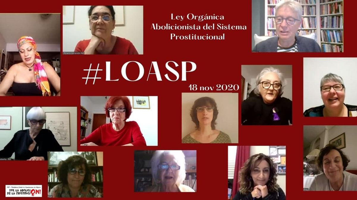 Cartel Presentación Pública de la LOASP