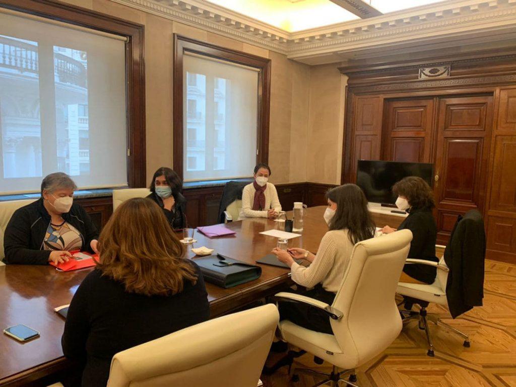 Reunión con el Ministerio de Igualdad 4dic